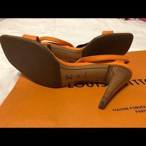 Authentic Louis Vuitton sandals